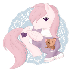 [Commission] Sew Sweet chibi by MissBlackNails