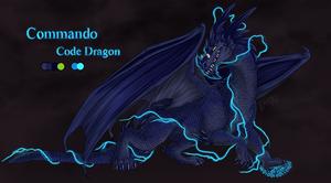 Commando Code Dragon by Wolfvane14