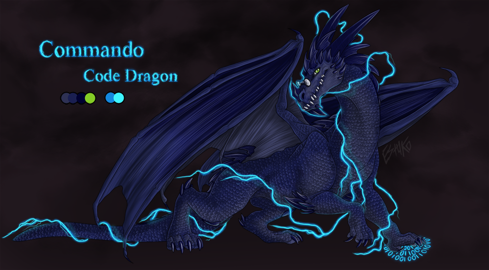 Commando Code Dragon by Wolfvane14
