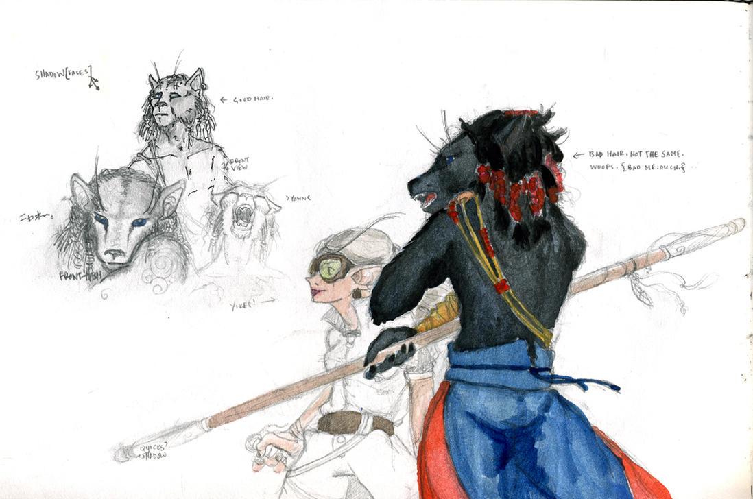 sketchdump - moar shadow plz by unwanderinggirl