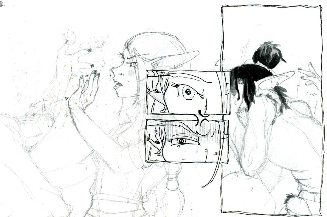 sketchdump - never finished 2 by unwanderinggirl