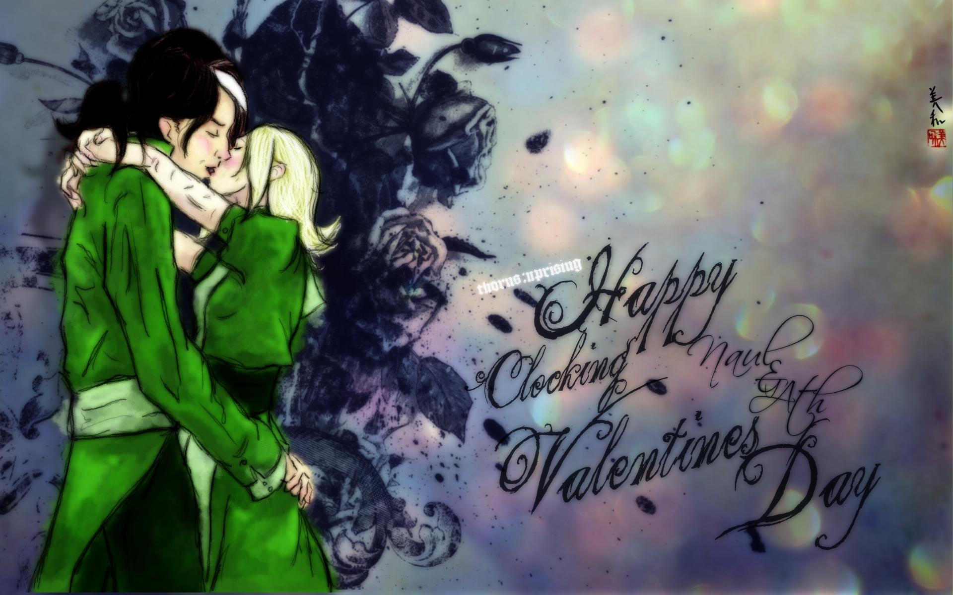 Thorns - Clocking Valentine by unwanderinggirl