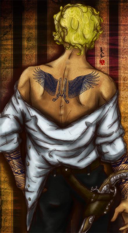 Thorns - Corwynn's Tattoos 2 by unwanderinggirl