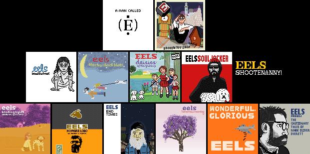 Pixel Discography Eels By 8 Bitbrony On Deviantart