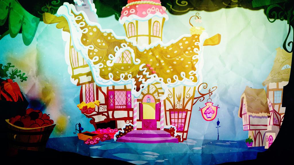 Sugarcube Corner [My Little Pony: FiM] by Zumbuh