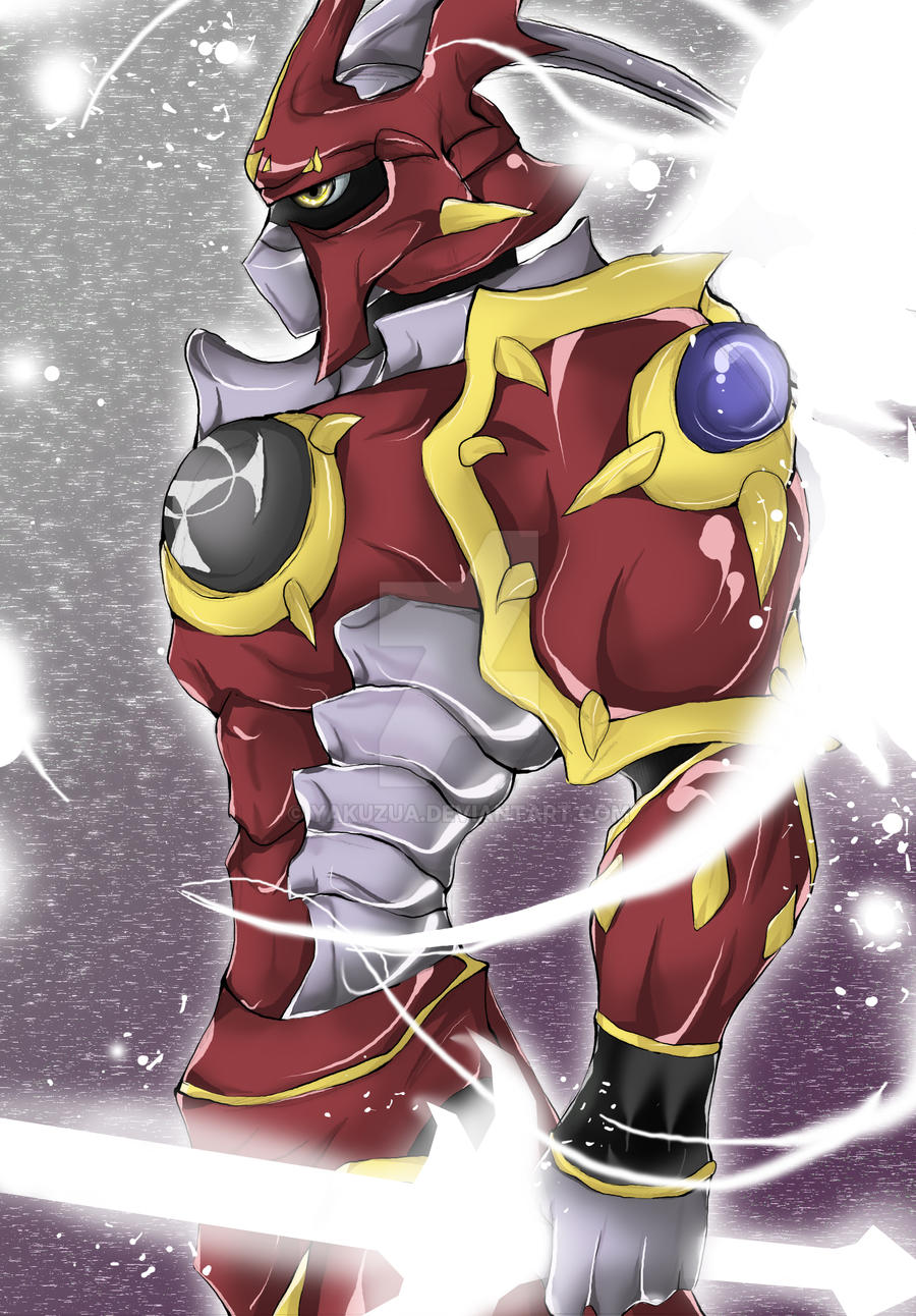 Dukemon Crimson Mode by YakuZua