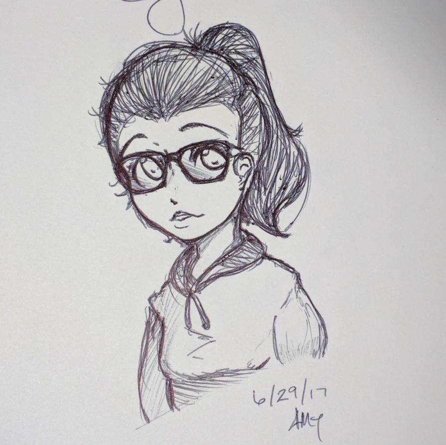 quick doodle by mrdotbiscuit