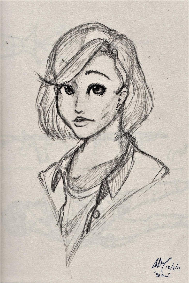 Quick Sketch by mrdotbiscuit
