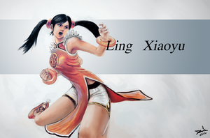 Ling_Xiaoyu by Grayfoxdie
