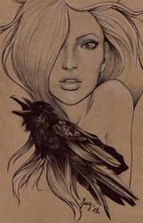 Raven by sueythebrave