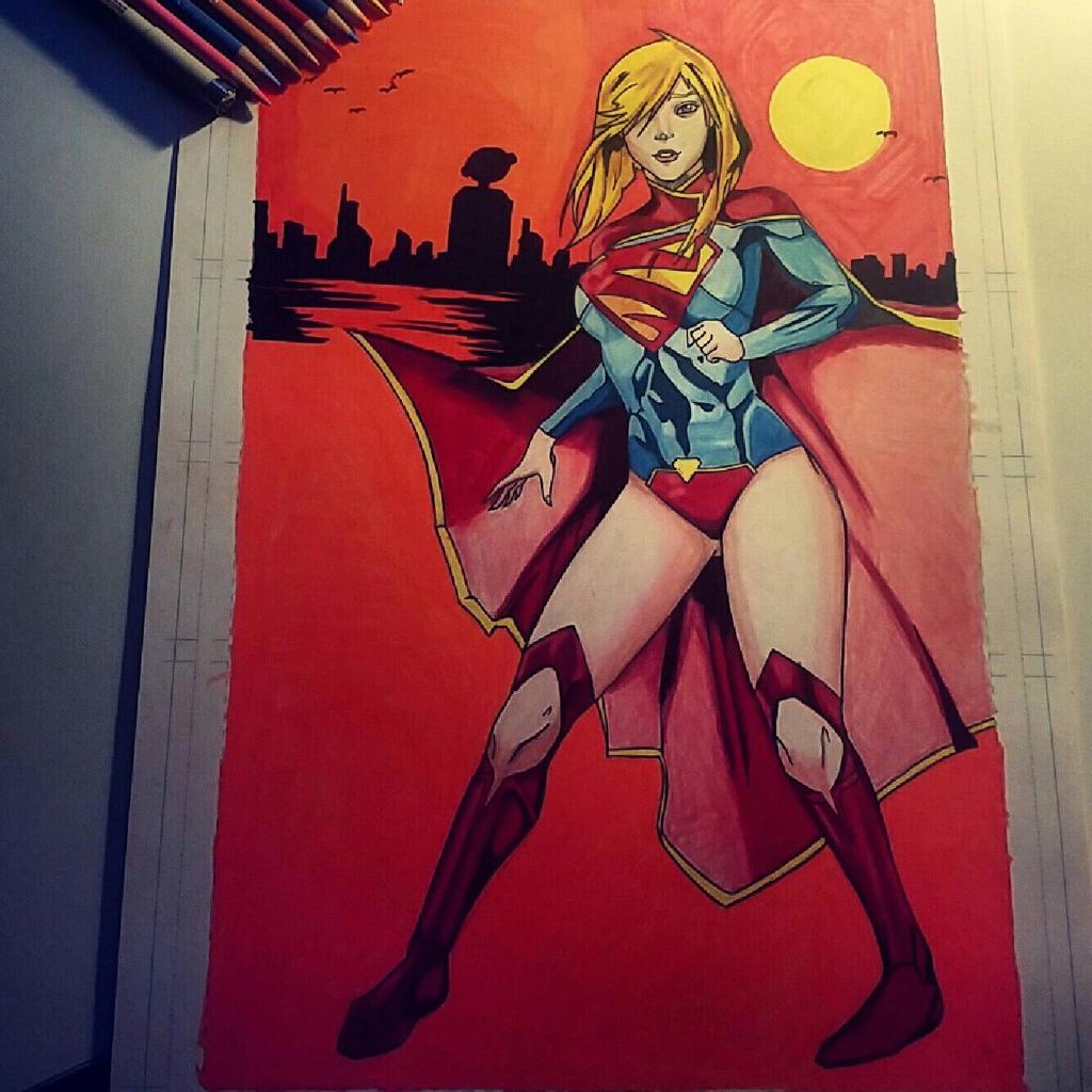 super girl  by jamilgreene245