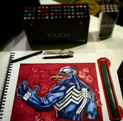venom commission  by jamilgreene245