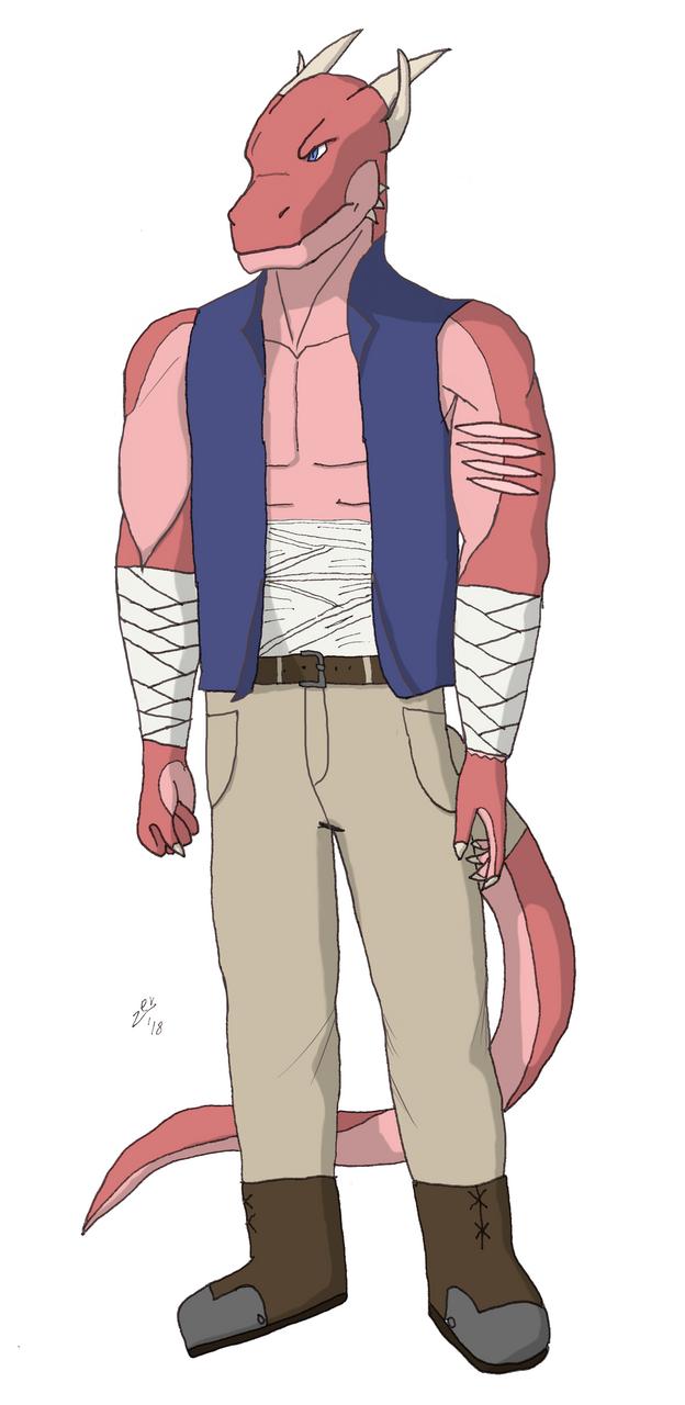 Argent Bapt - Village Outfit by Zevrant-Bapt