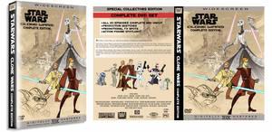 Star Wars Clone Wars DVD Mock