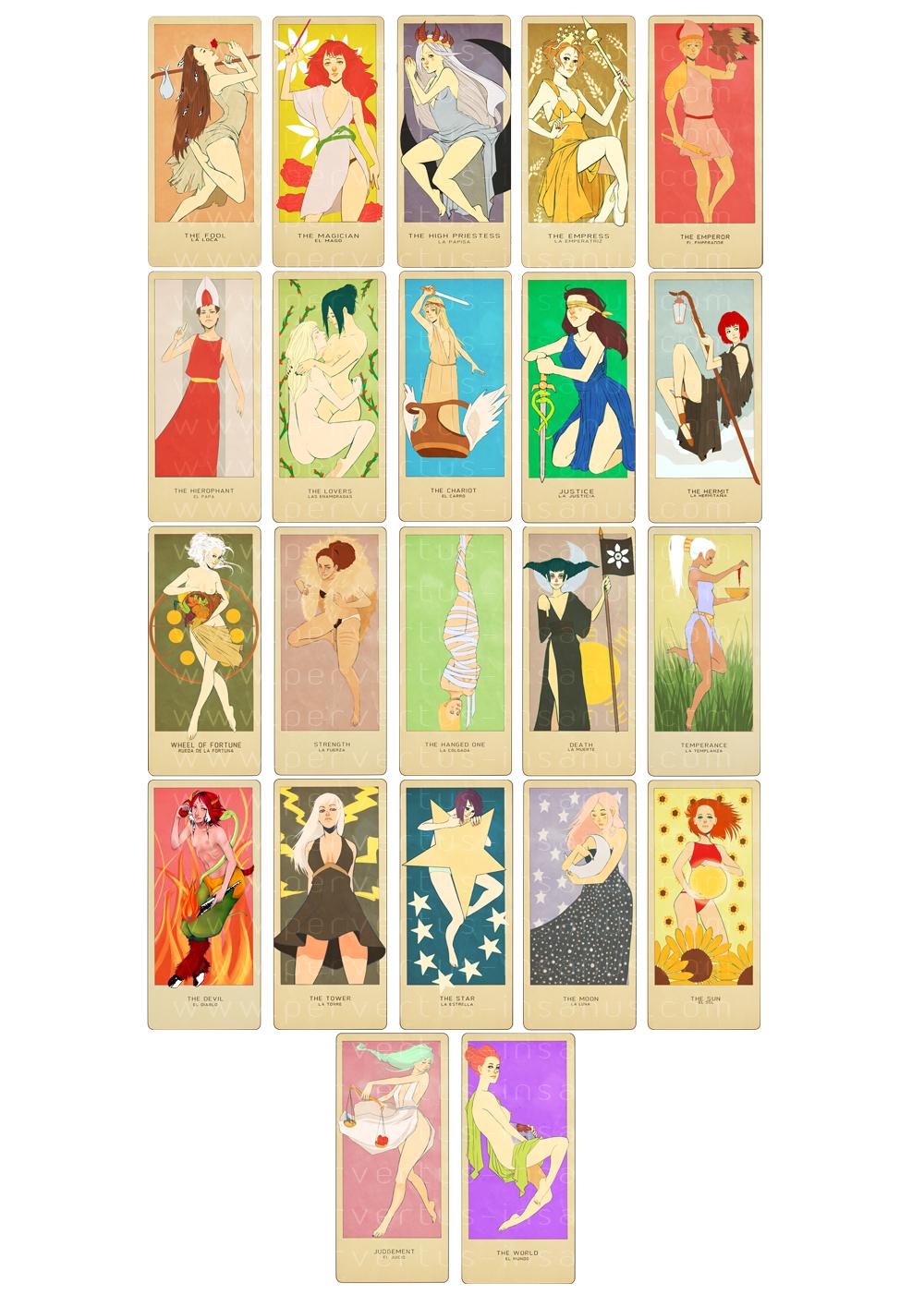 Major Arcana Tarot Card Meaning According To: Major Arcana By MMXII On DeviantArt
