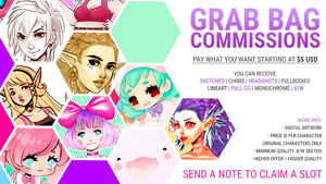 [CLOSED] GRAB BAG COMMISSIONS! by MMXII
