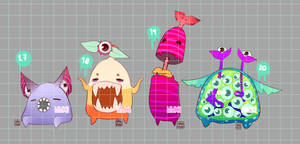 [CLOSED] Halloween Specials: Monster Hojitas by MMXII