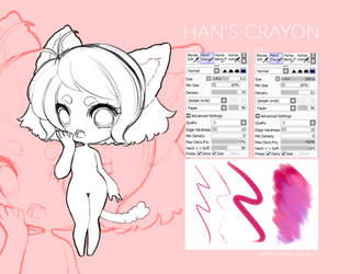 F2U SAI Brush: Han's Crayon by MMXII
