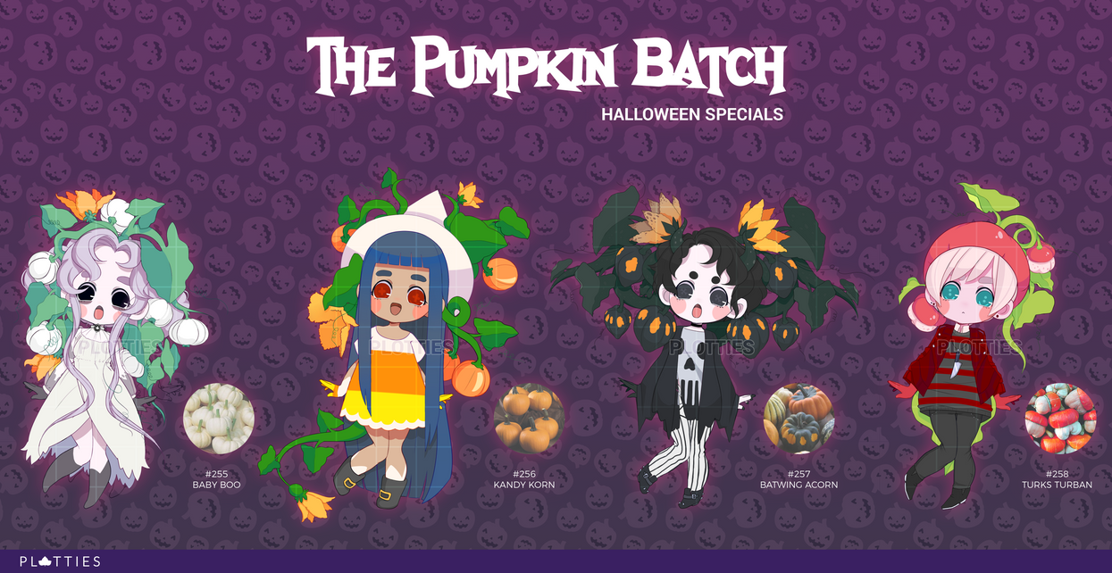 OPEN 1/4] Halloween Specials: The Pumpkin Batch by MMXII on DeviantArt