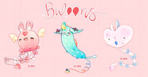 CHARITY ADOPTS: Buloons Auction by MMXII