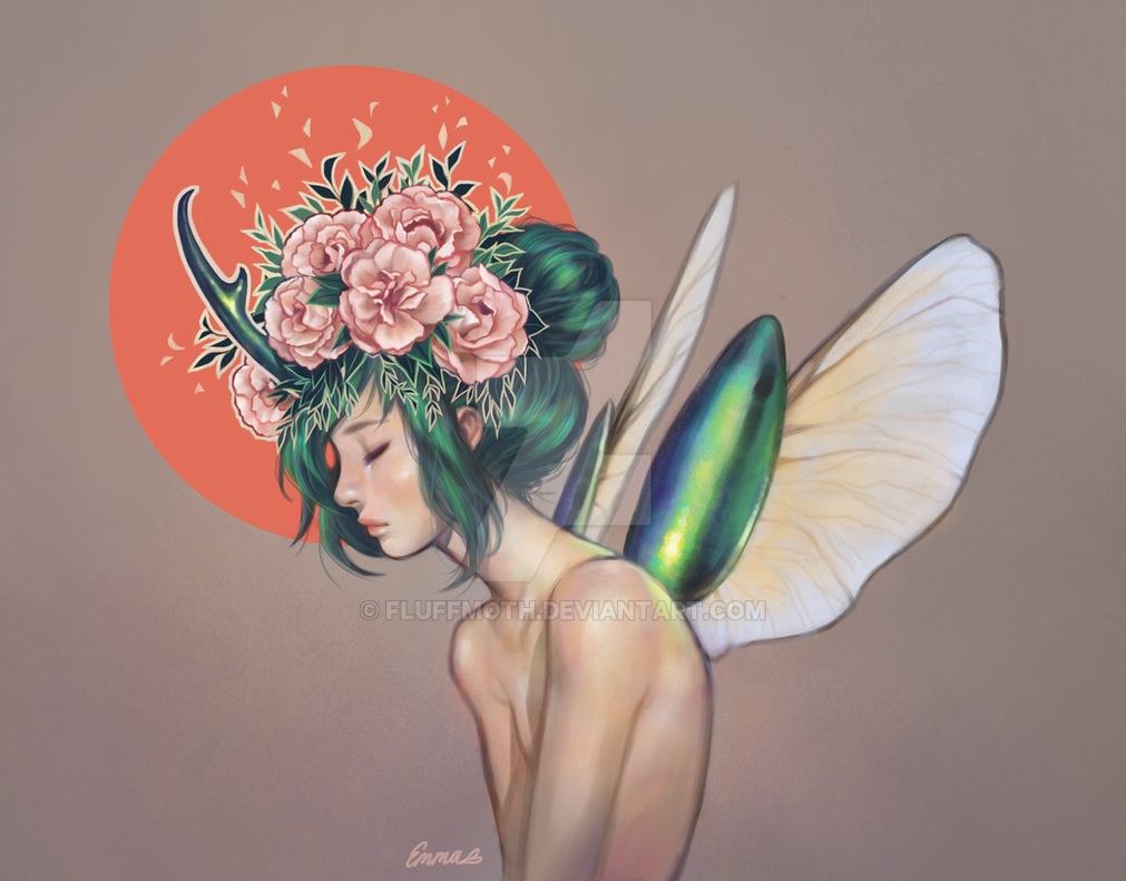 Beetle by Fluffmoth