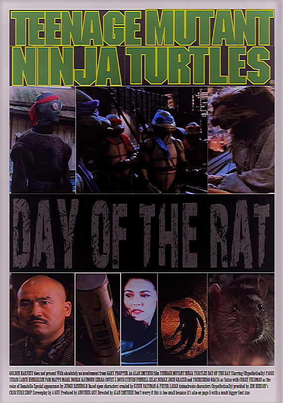 TMNT: Day Of The Rat - Movie poster