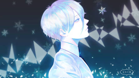 Antarcticite from Houseki no Kuni