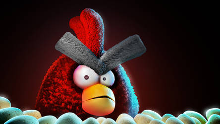 Angry Bird by ReD1osman