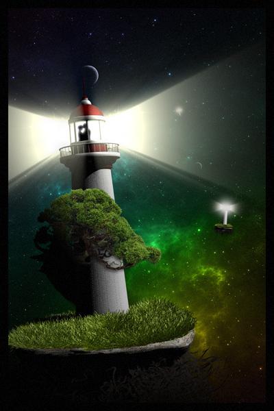 Lighthouse by Sserpyc