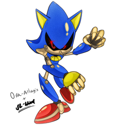 [COLLAB]Metal Sonic by SL-Wind