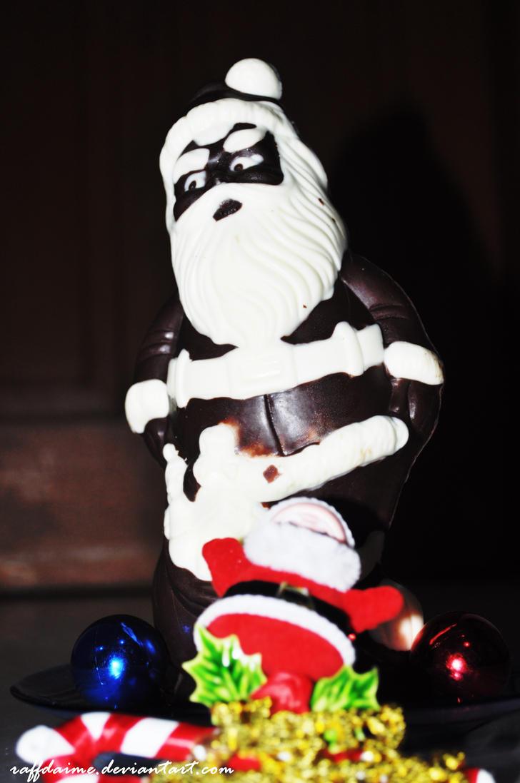 Chocolate Santa by raffdaime