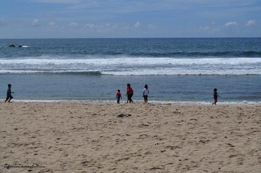 Beach by raffdaime