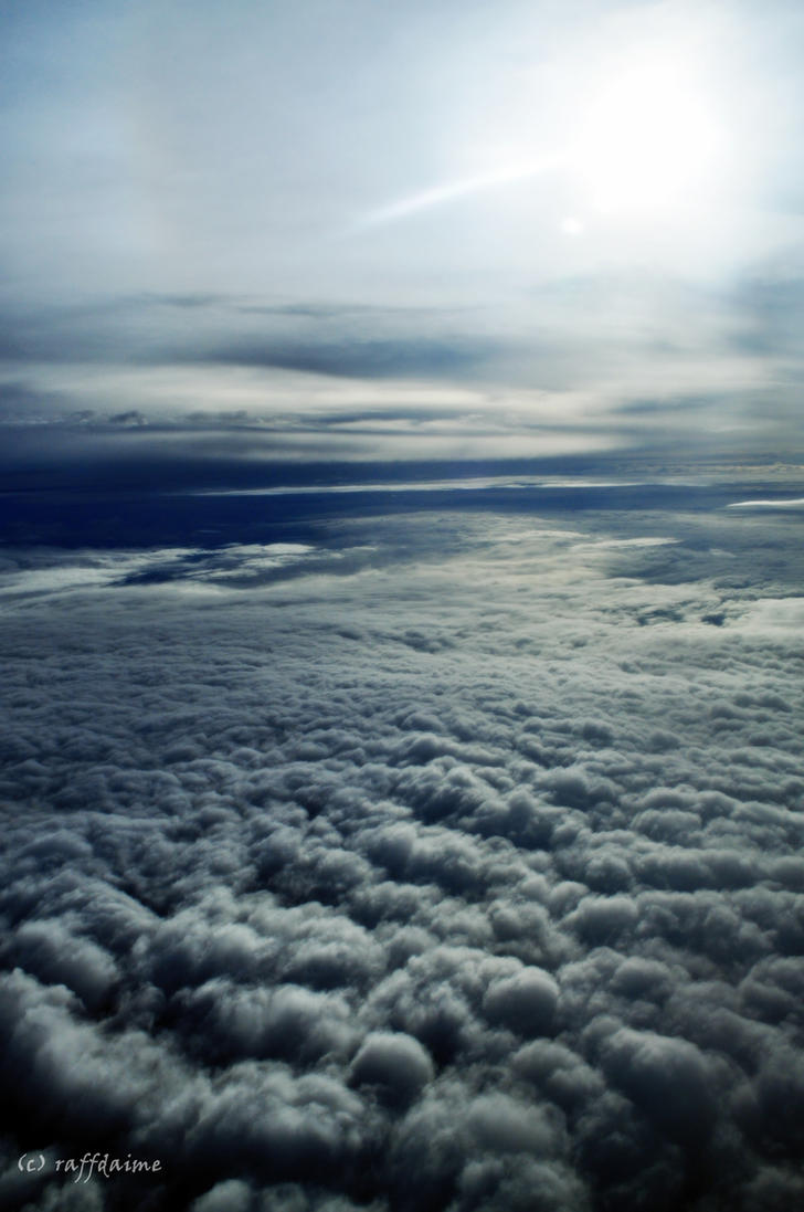 Sun up Cloud by raffdaime