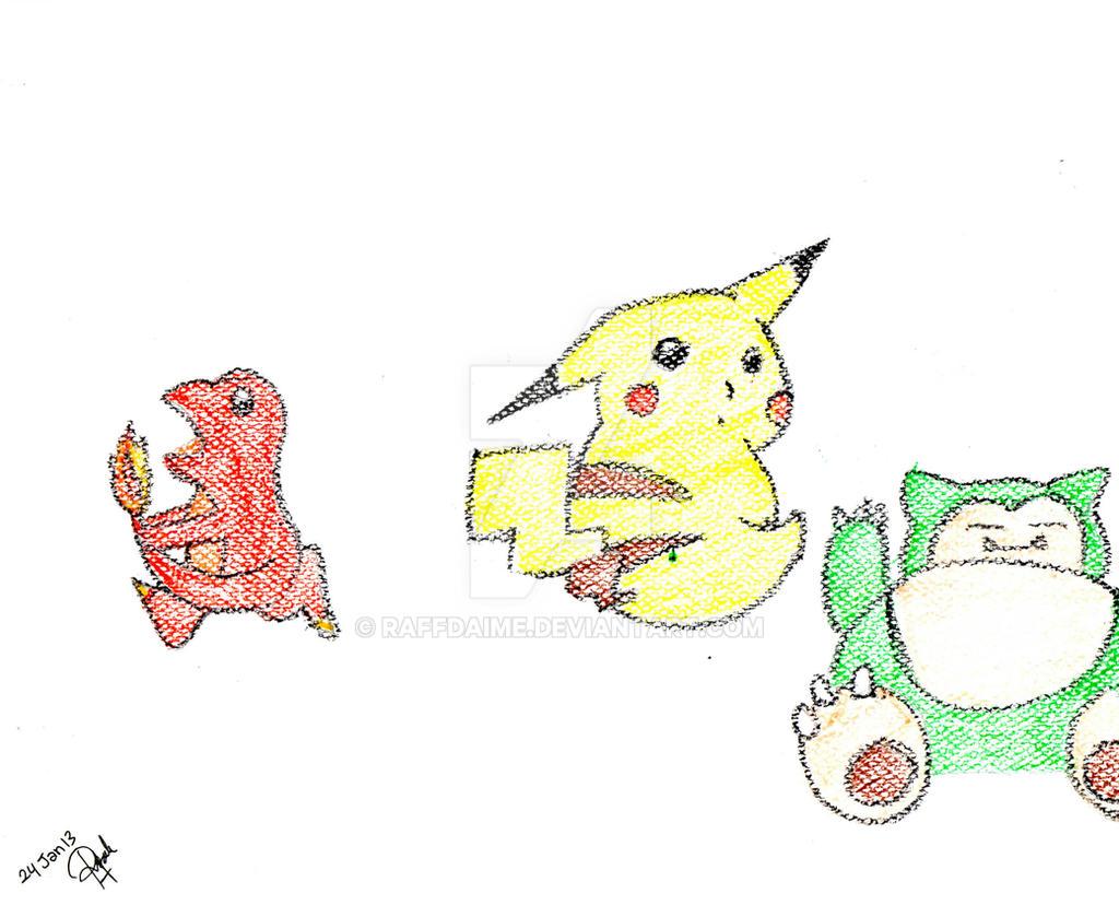 Pokemon by raffdaime
