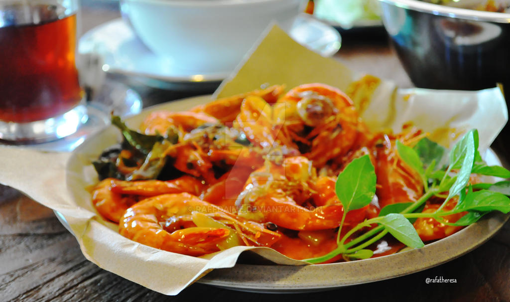Grilled Shrimp by raffdaime