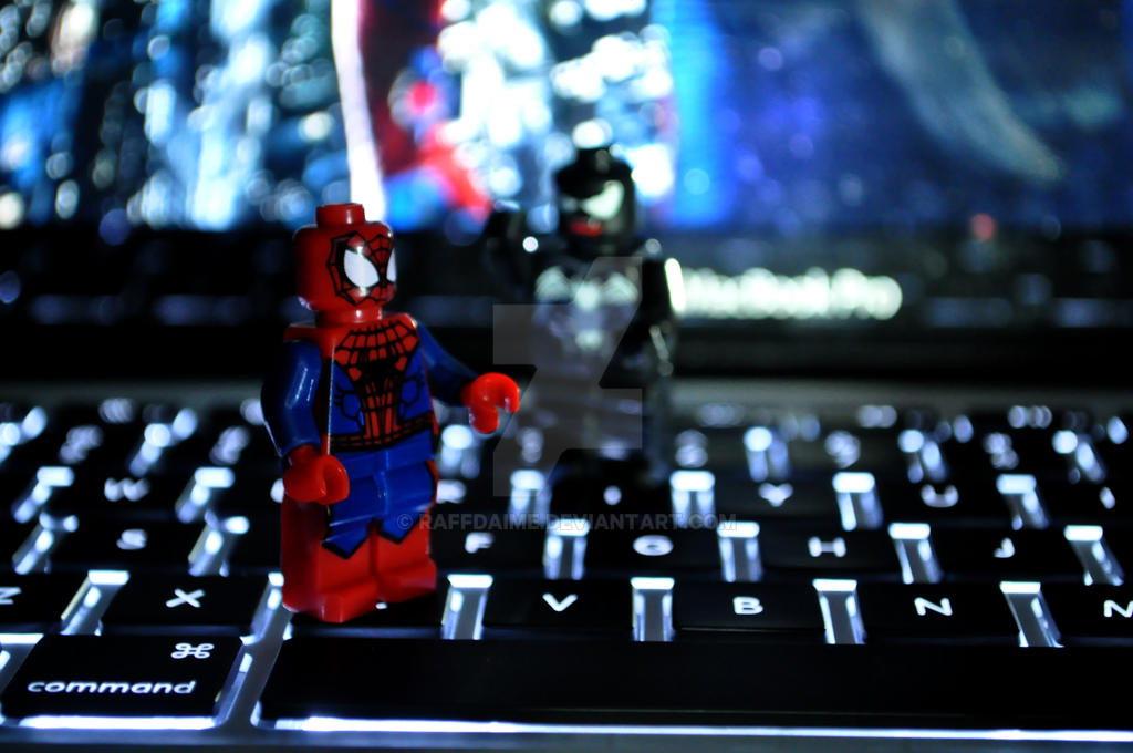 mini spidey by raffdaime