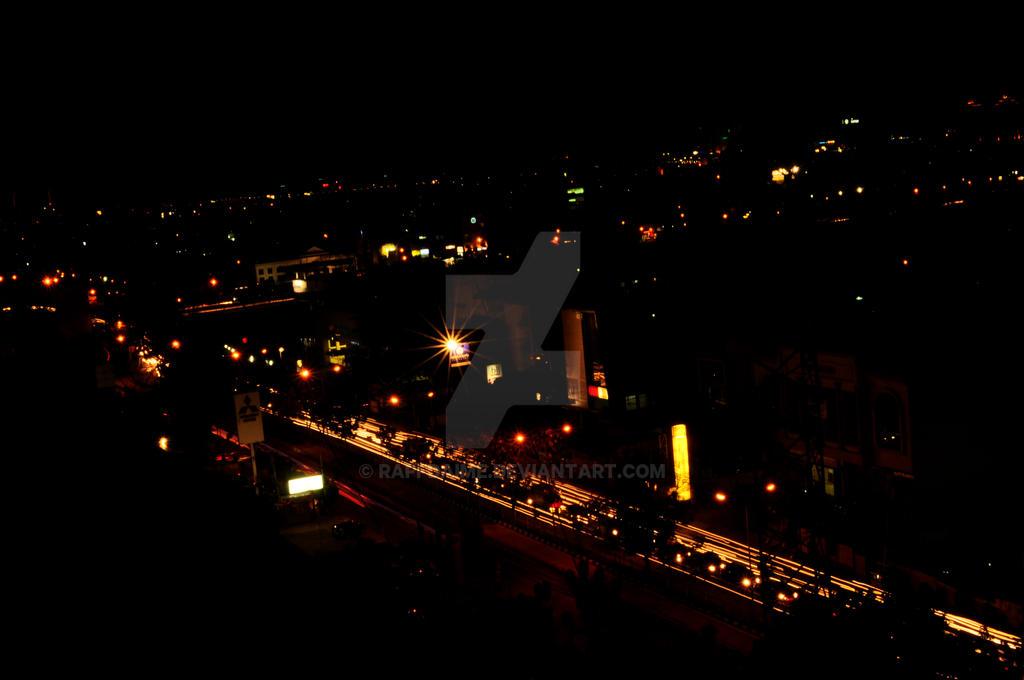 Jakarta Night by raffdaime
