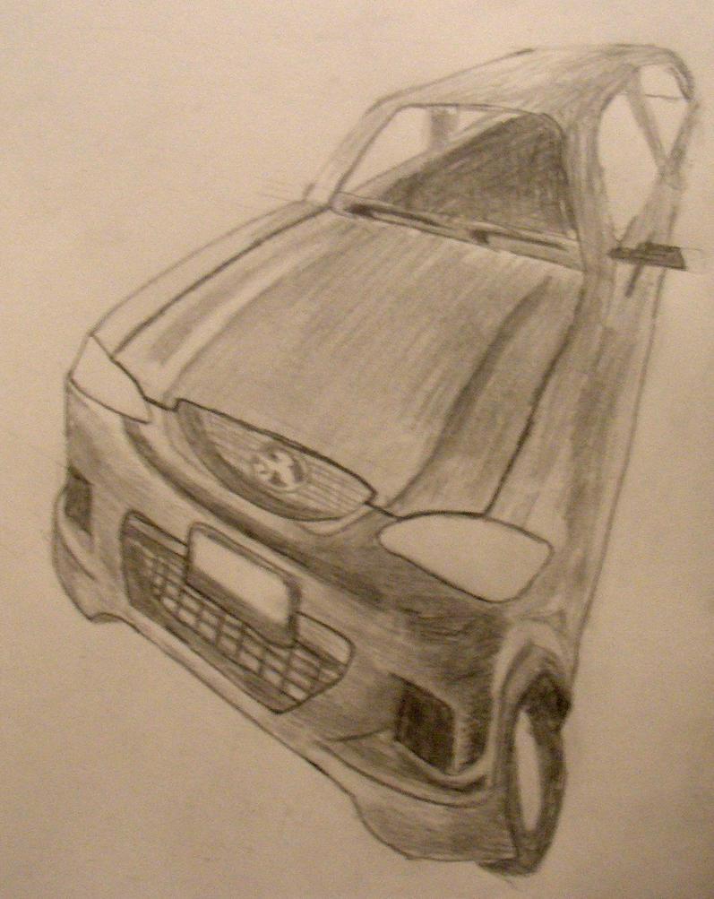 2 point car? by Ultimaodin