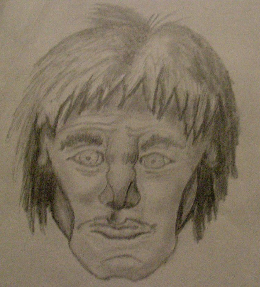 A random face by Ultimaodin