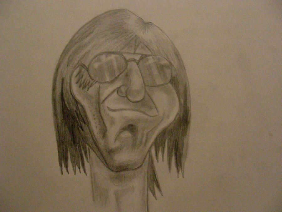 Jeff Beck Caricature by Ultimaodin