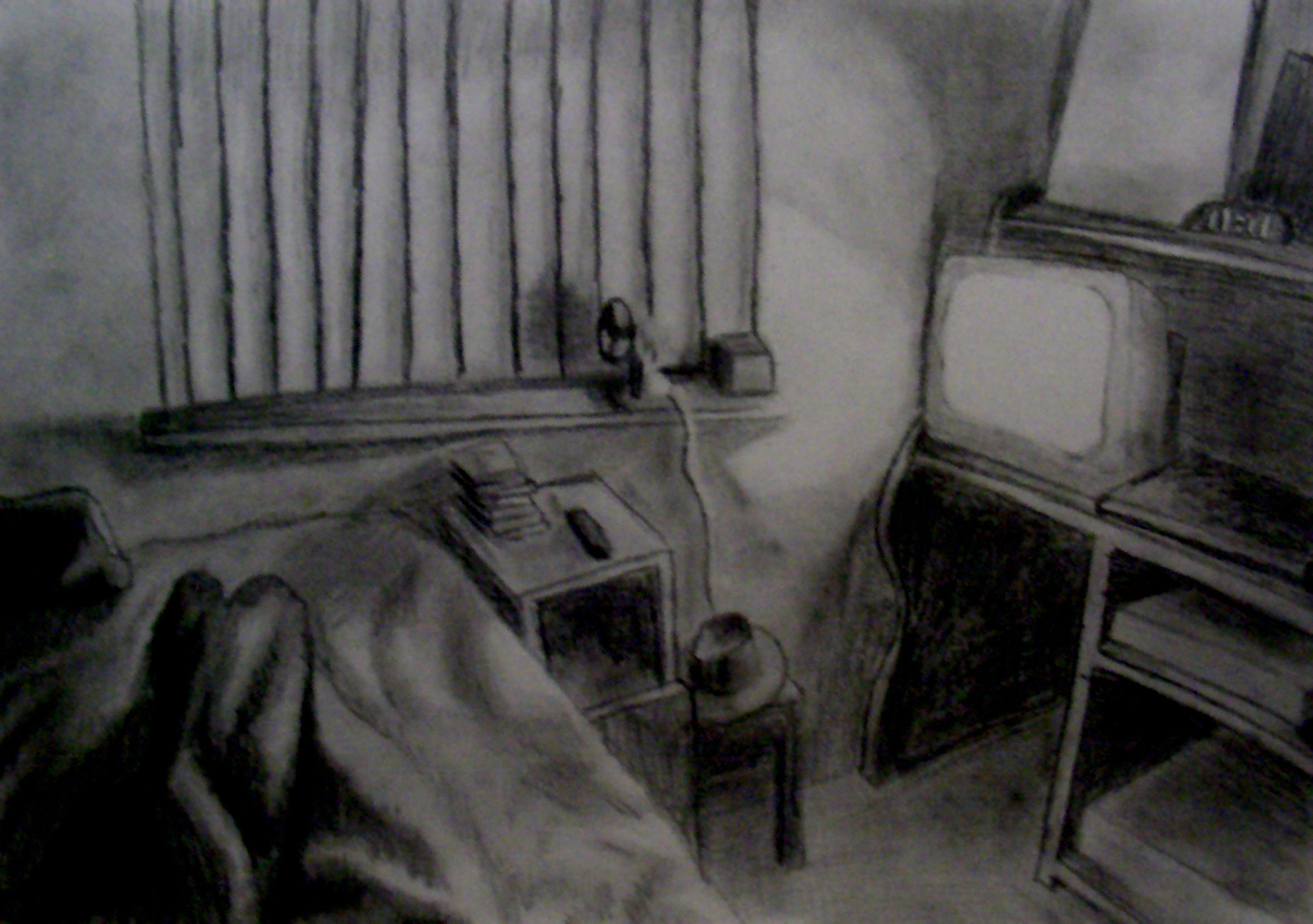 My Bedroom Drawing Assignment By Ultimaodin