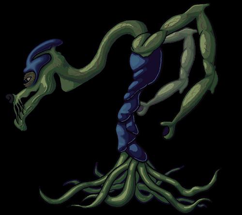 Colony Alien Pre-concept Coloured by Ultimaodin