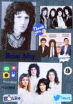 Brian May by Sillyhatlovingbro