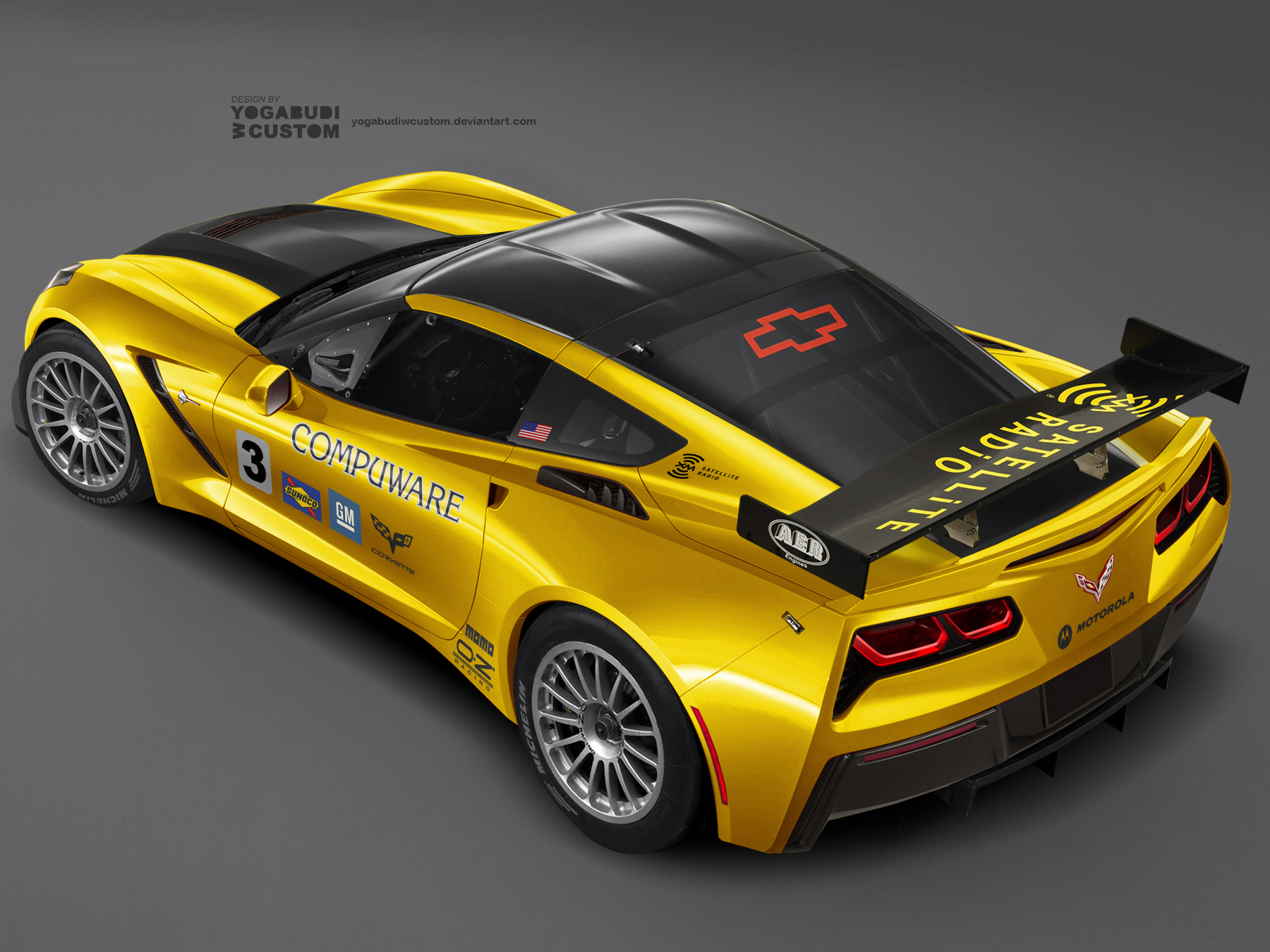 Corvette Stingray C7.R by YogaBudiwCUSTOM