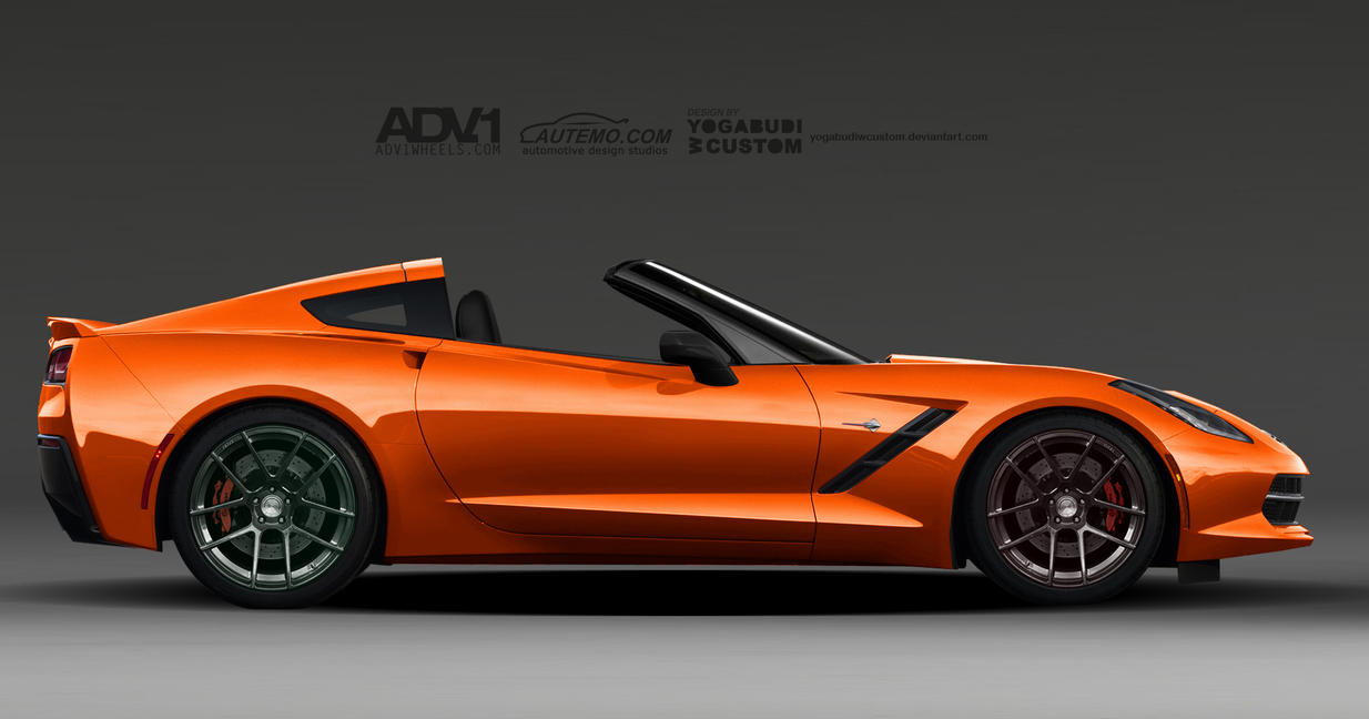 Corvette Stingray C7 Targa by YogaBudiwCUSTOM