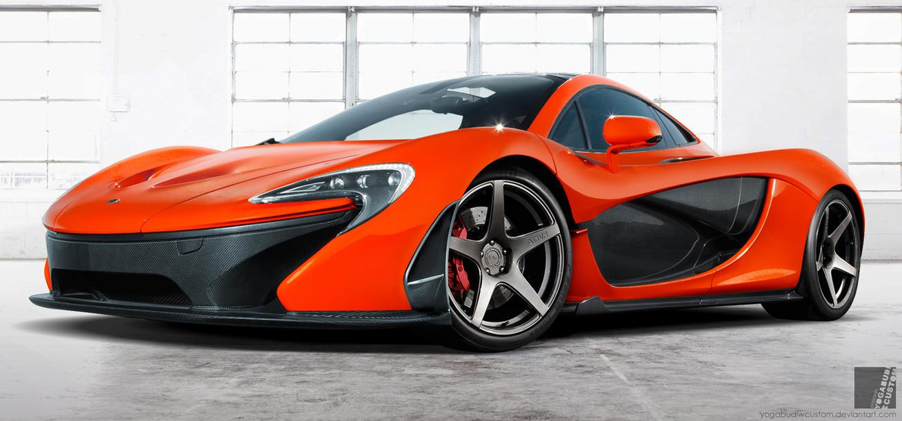 McLaren P1 Front View by YogaBudiwCUSTOM