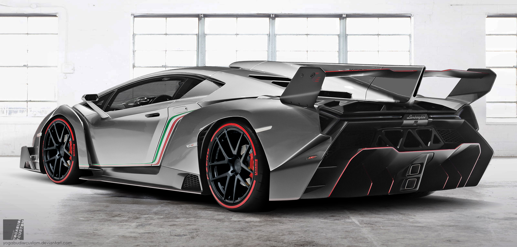how to draw a realistic lamborghini veneno
