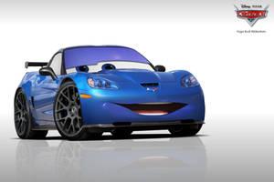 Cars - Chevrolet Corvette ZR1 Racing Kit by YogaBudiwCUSTOM