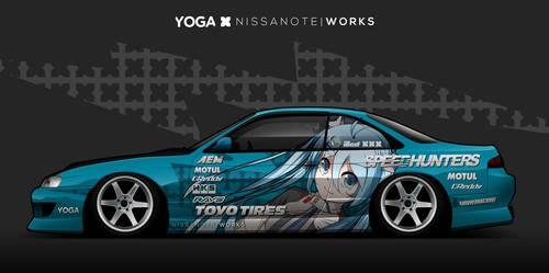 Miku Itasha S14 by YogaBudiwCUSTOM
