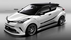 Toyota x Work Wheels C-HR by YogaBudiwCUSTOM
